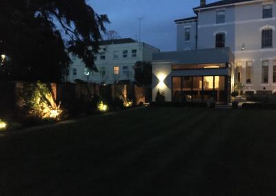 Creative garden outdoor lighting electrical installation cheltenham gloucestershire