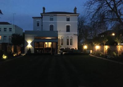 Creative garden outdoor lighting electrical installation cheltenham gloucestershire 3